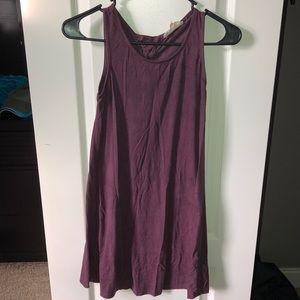 Berry colored dress